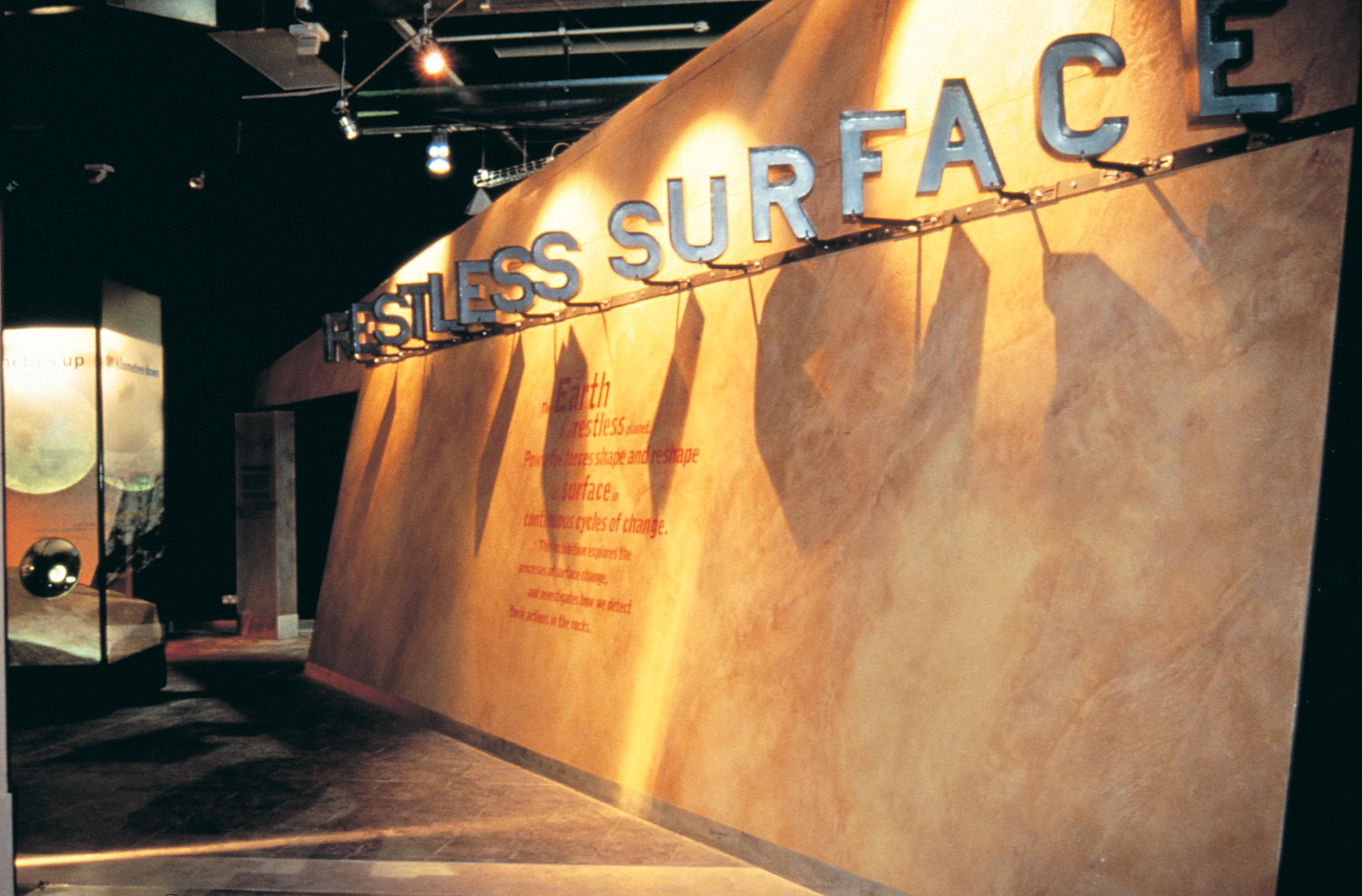 Restless Surface - National History Museum