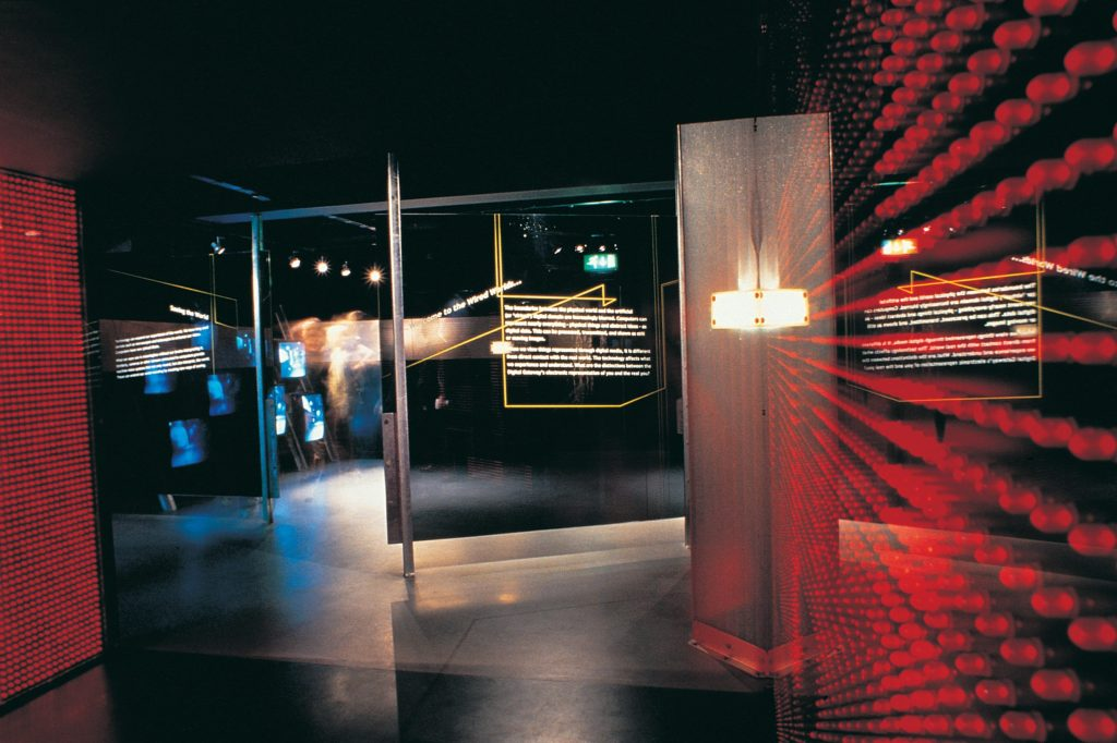 Wired Worlds 2000 Award-winning museum design